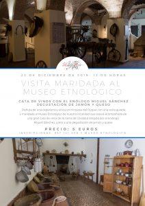 VISITA MARIDADA AL MUSEO ETNOLÓGICO @ Museo Etnológico