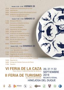 VI FERIA DE LA CAZA Y II FERIA DE TURISMO @ RECINTO FERIAL