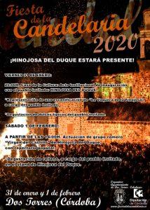 ¡HINOJOSA DEL DUQUE, PUEBLO INVITADO EN LA FIESTA DE LA CANDELARIA DE DOS TORRES!