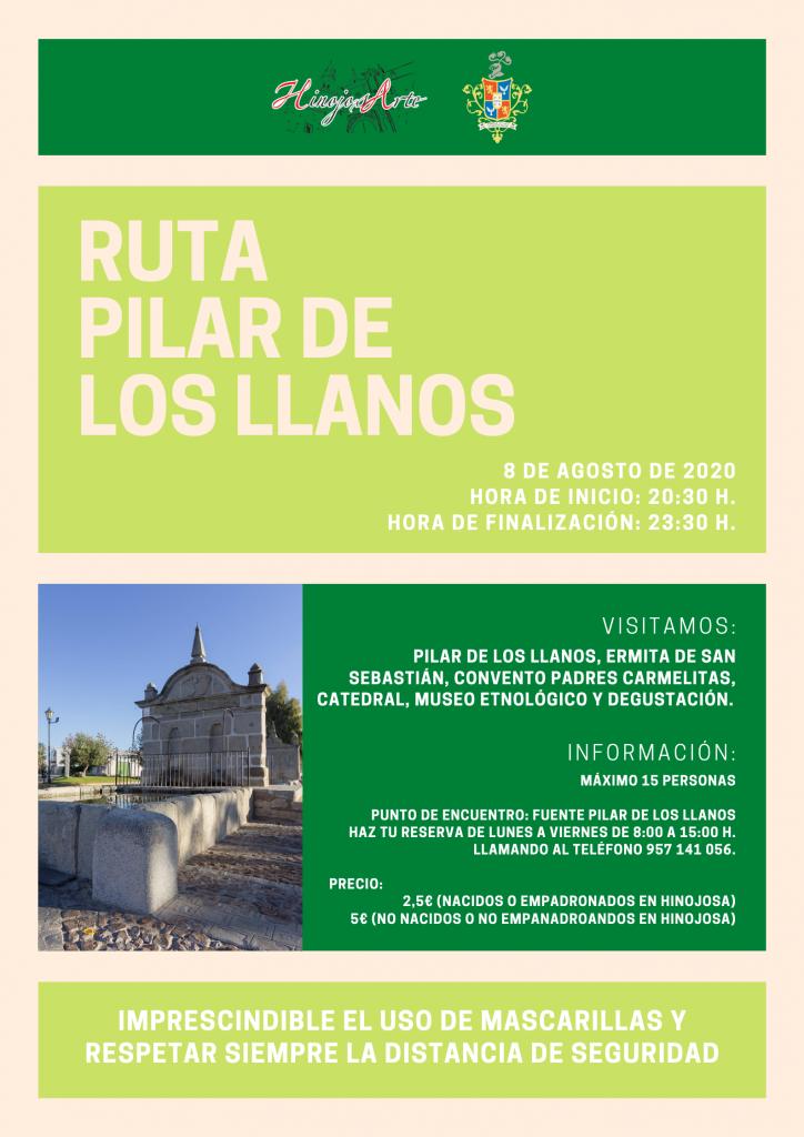 RUTA PILAR DE LOS LLANOS