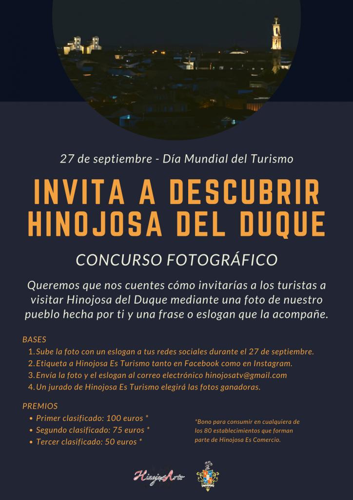 Concurso Fotográfico con motivo del Día Mundial del Turismo