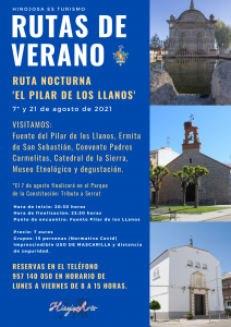RUTA NOCTURNA «EL PILAR DE LOS LLANOS»